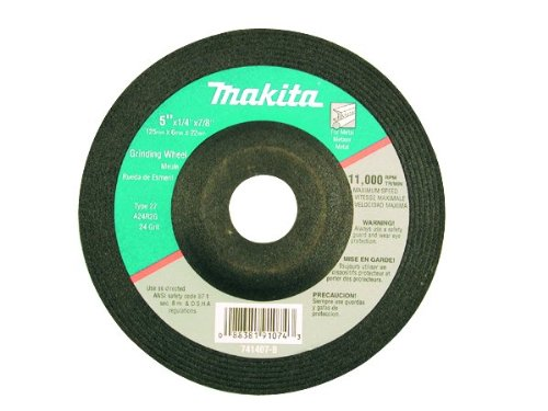 Makita 741423-B-25 4-1/2-Inch Grinding Wheel, 25-Pack