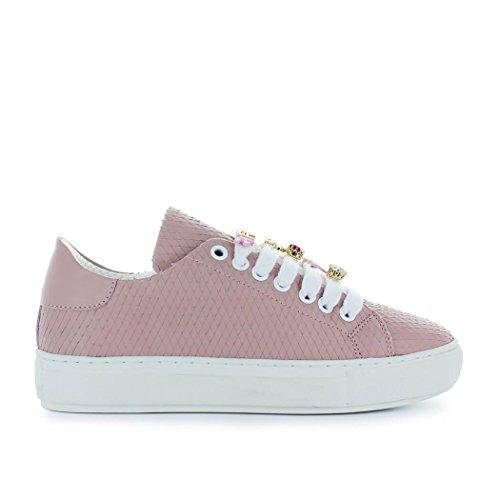 Rosa Scarpe Estate Sneaker 2018 Allegra Pelle Da Pinko Donna In Primavera qHSfUHwx