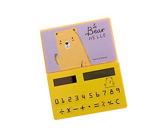 Ultra mince Cute Mini Office Student Portable Calculator / Jouets pour enfants, A3