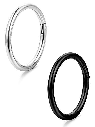 ORAZIO Stainless Piercing Seamless Clicker