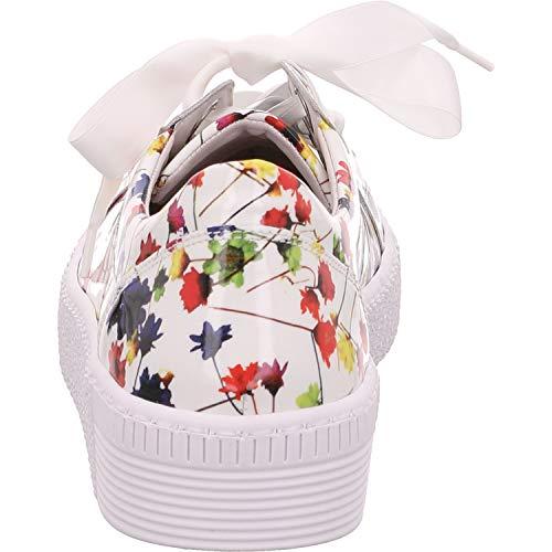 Mujer 330 Exterior calzado 23 weiss calzado de ocio cordones Negocios De Deportivo zapatilla casual Deporte Gabor Uk 9 qEn5x0vwq