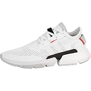 adidas Originals Men's POD-S3.1 PK Footwear White/Footwear White/Shock Red 11.5 D US