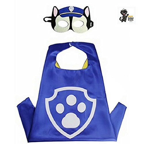 Honey Badger Brands Dress up Comic Cartoon Superhero Costume (Chase - PAW)]()