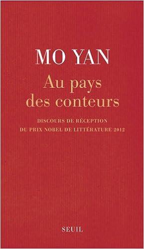 Livres gratuits en ligne Au pays des conteurs : Discours de réception du prix Nobel de littérature 2012 epub pdf