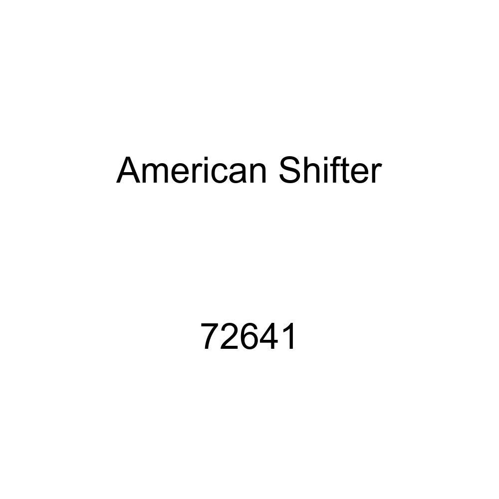 American Shifter 72641 Black Metal Flake Shift Knob with M16 x 1.5 Insert Orange 6 Star Formation