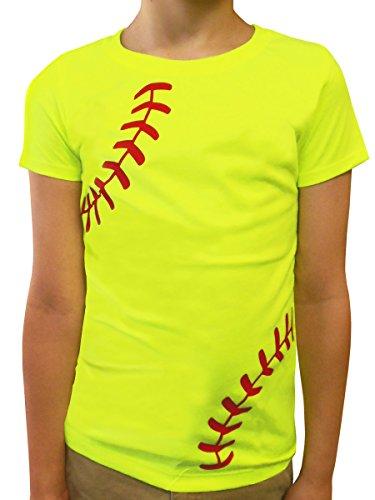 Zone Apparel Softball Girls T Shirt product image