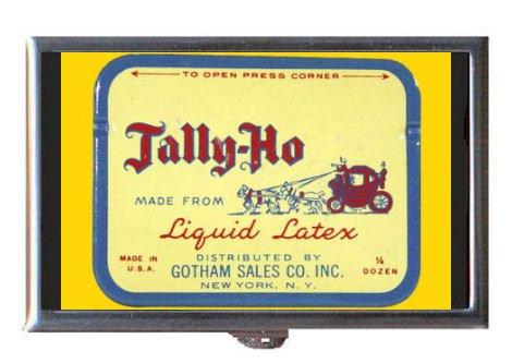 vintage-condom-tin-tally-ho-guitar-pick-or-pill-box-usa-made
