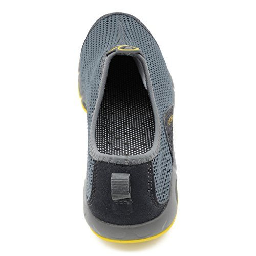 9 Shoes Hiking Non in Arcweg Couple Dark Beach UK Shoes Outdoor 5 on 2 Sizes Mens Breathable Grey Shoes Shoes Water Mesh 5 Mountain Slip Womens Tekking Slip S7Hxv7