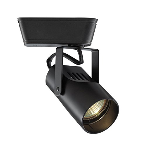 WAC Lighting HHT-007-BK H Series Low Voltage Track Head, (Track Lighting Heads Accessories)
