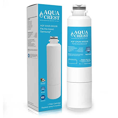 Price comparison product image AquaCrest DA29-00020B Refrigerator Water Filter Replacement for Samsung DA29-00020B,  DA29-00020A,  HAF-CIN / EXP,  46-9101 Water Filter (Pack of 1)