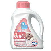 Dreft Stage 1: Newborn Liquid Laundry Detergent (HE), 40 oz, 25 loads