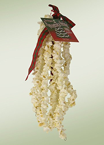 Cranberry Popcorn Garland - Byers Choice 9 Foot String of Popcorn the Original Popcorn on a String
