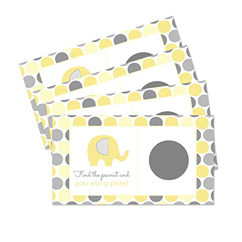Yellow Elephant Scratch Off Game - Set of 28
