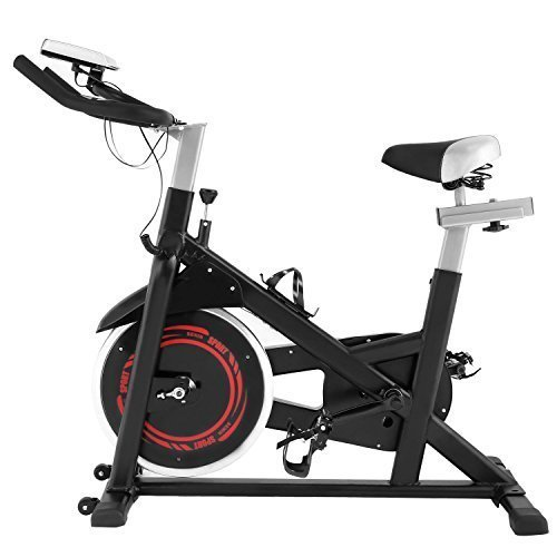 Kaluo Ultra-Quiet Magnetic Aerobic Cardio Training Exercise Bike Fitness Indoor Cycle Bike-LCD Display(US Stock) Kaluo