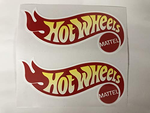 2 Hot Wheels Decals by SBDdecals.com