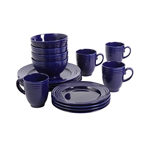 Gibson Home Stanza 16-Piece Dinnerware Set (Cobalt)