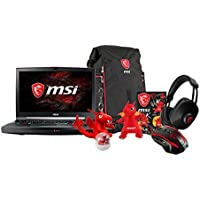 MSI GT75VR TITAN PRO-202 17.3 FHD Gaming Laptop - Intel Core i7-7820HK (KabyLake), NVIDIA GTX 1080, 16GB RAM, 1TB HDD, Mechanical Keyboard + Gaming Bundle