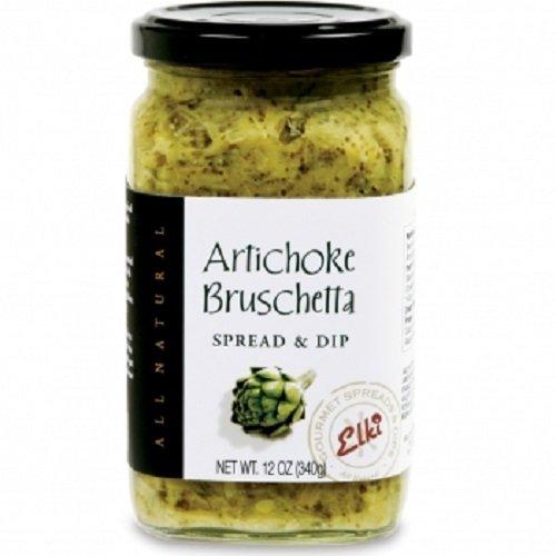 (Elki's Gourmet Artichoke Bruschetta, 12)