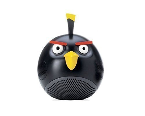 ElectricalCentre Gear4 Universal Speaker For iPod/iPad/iPhone - Angry Birds Black Bird by ElectricalCentre