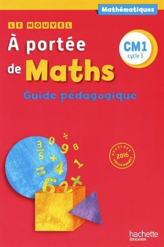 Livre Telecharger Le Nouvel A Portee De Maths Cm1 Guide