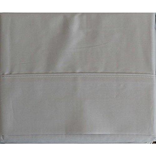 Set of 2 Ralph Lauren Dunham Sateen Standard Pillowcases Dove Gray -300 Thread Count 100% Cotton- (Lauren Pillow Ralph Cases)
