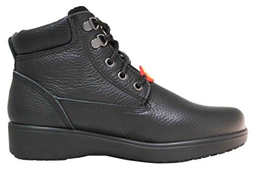 "Cactus Women's 6"" LS60 Black Slip-Resistant Boot"