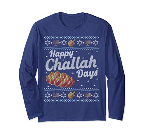 Hanukkah Sweater Happy Challah Days