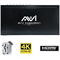 AVI 8x8 HDMI 4K @60Hz Martix Switcher With IR SPDIF Audio Interface Support HDCP 2.2 / 1.4, EDID, DTS, Dolby HD 3D