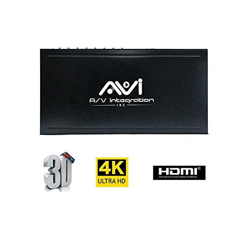 A/v Switcher Matrix (AVI 8x8 HDMI Martix Switcher 4K @60Hz With IR SPDIF Audio Interface Support HDMI2.0 HDCP 2.2 / 1.4, EDID, DTS, Dolby HD 3D)
