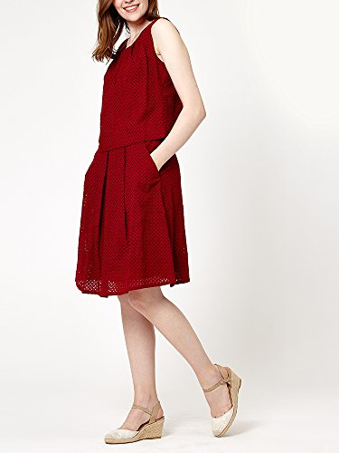 Ness - Falda - trapecio - para mujer Hot Red