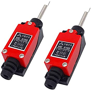tatoko Roller Lever Arm Momentary Limit Switch ME-8104 1NC+1NO 4PCS