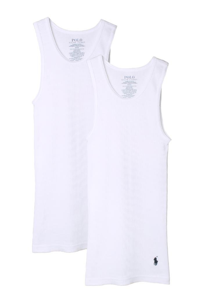 Polo Ralph Lauren Kids/Boys 2 Pack Ribbed Tank Undershirt PKURK03