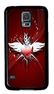 cool Samsung S5 cover Angel Heart PC Black Custom Samsung Galaxy S5 Case Cover