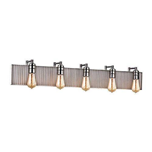 Elk Lighting 15924/5 Vanity-Lighting-fixtures, 6 x 40 x 5