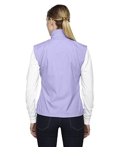 North End womens Full-Zip Lightweight Wind Vest(78051)-IRIS 653-XS