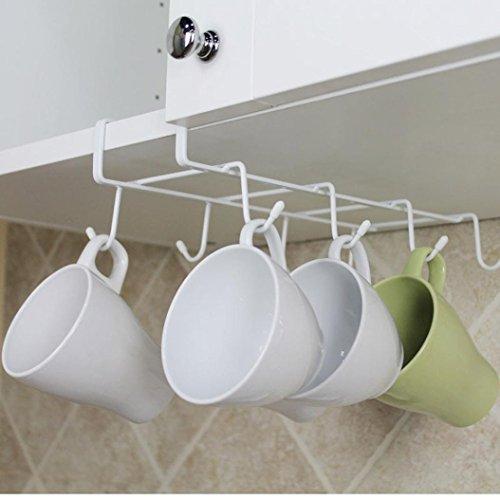 YJYDADA KitchenStorage Rack Cupboard Hanging Hook Hanger Chest Storage Organizer Holder