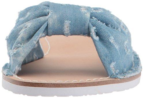 Kate Spade New York Donna Indi Sandalo Scorrevole Blu Chiaro Denim