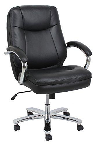 BarcaLounger 9280H-MA Black Big & Tall Executive Chair, 500 lb