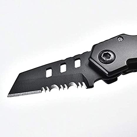GILH EDC Mini B2 cuchillo plegable portátil para acampar ...