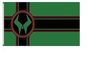 FYOn gran Latveria basado en el diseño que aparece en la funda de Doom el emperador Returns # 1bandera 3x 5ft