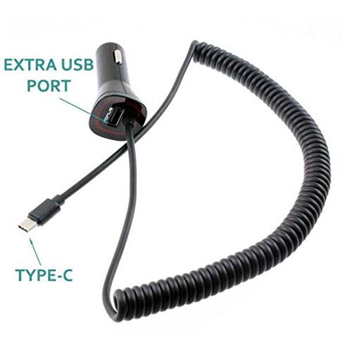 3 1Amp Type-C Rapid Car DC Power Adapter Plug-in Charger USB