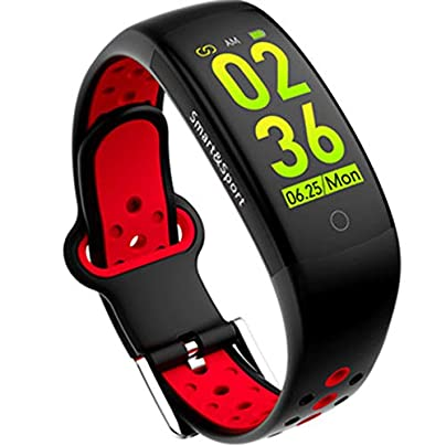 GMACCE Smart Wristbands Watch Fitness Tracker Blood Pressure Heart Rate Monitor IP67 Waterproof Fitness Tracker Pedometer Sport Bracelet Estimated Price £33.95 -