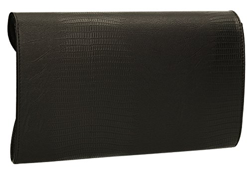 Gris noir gris Pochette SwankySwans pour femme wax8np4O