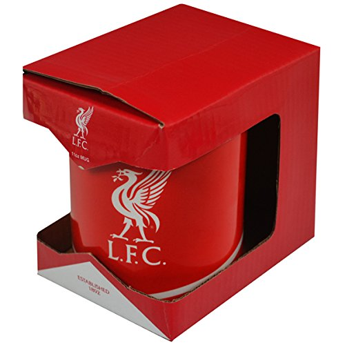 Liverpool FC - Authentic EPL Crest Mug In Gift - Jersey Liverpool Authentic