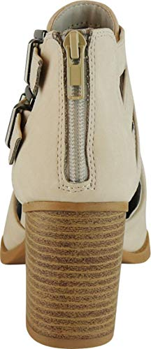 Pictures of Cambridge Select Women's Side Cut Out Light Taupe Nbpu 5