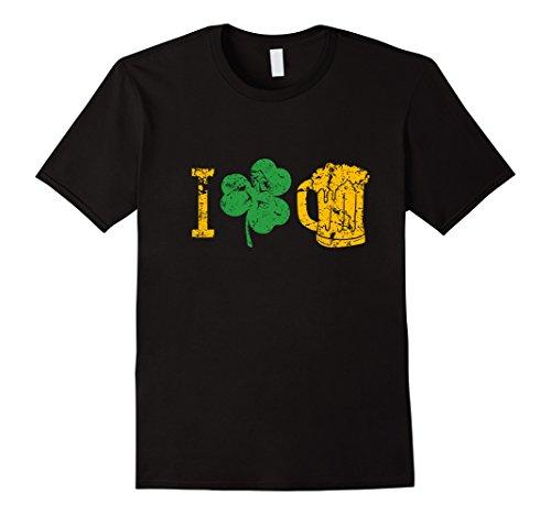 I Love Beer Four Leaf Clover St Patricks Day T (Clover Beer)
