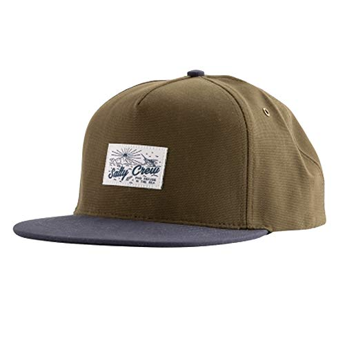 (Salty Crew Men's Frenzy Two Tone 5 Panel Hat, Loden Navy (LODENNAVY), One Size)