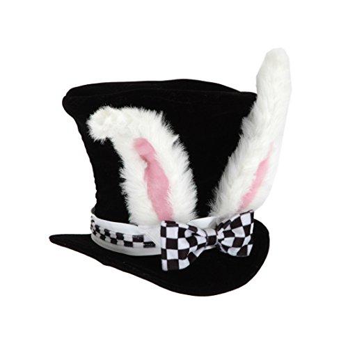 elope Kids White Rabbit Topper Plush