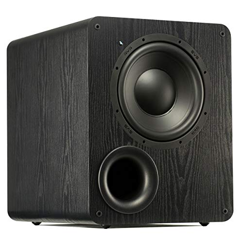 SVS PB-1000 Subwoofer (Black Ash) - 10-inch Driver, 300-Watts RMS, Ported Cabinet