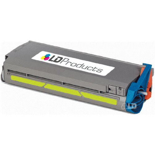 LD Remanufactured Okidata 41304205 Yellow Type C2 Toner Cartridge